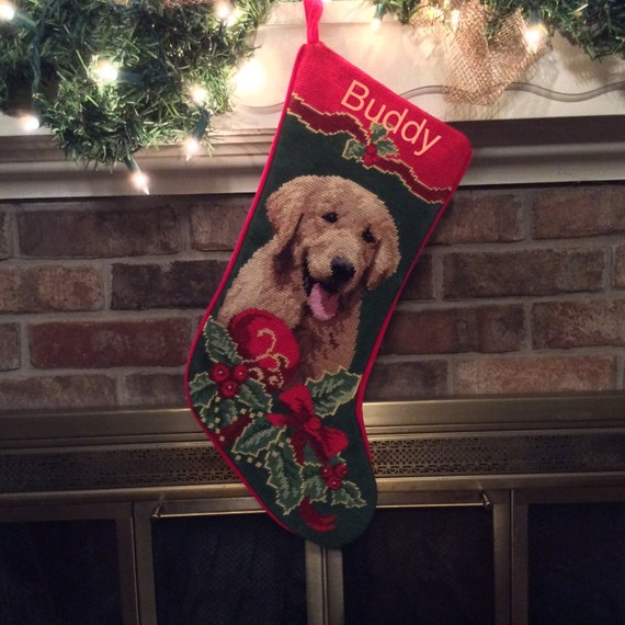 Needlepoint Christmas Stockings Personalized
