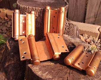 SALE 4 Copper Color Bommer Hinges
