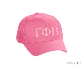 GPB Gamma Phi Beta Classic Letters Hat