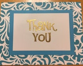 Reserved for Amanda R. - 10 Thank You Cards