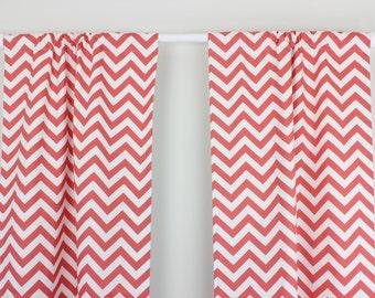 Arrow Curtain Panel Set Navy Blue Arrow Curtain Panels Coral