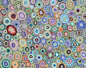 PAPERWEIGHT SLUDGE GP20 by Kaffe Fassett fabric Sold in 1/2 yard increments