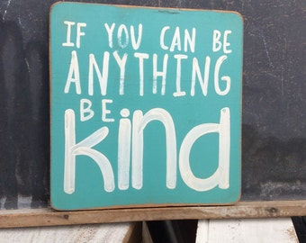 be kind-teal