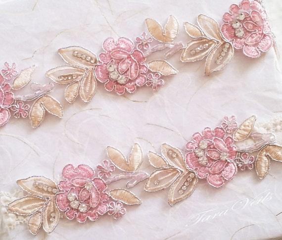 Tradition Of Wedding Garter: Wedding Garter SetBridal Garter BlushBridal Garter Two Tone
