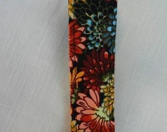 Floral print Key Fob, Key chain, Wristlet, Camera Strap