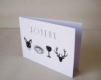 "Birthday card ""rébus"""