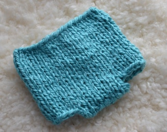 Chunky Knit Diaper Cover (Newborn Photo Prop) Knitting Instructions - PDF - Instant Download