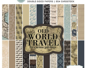 Old World Travel 6x6 Paper Pad