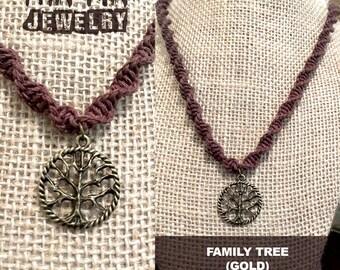 Family Tree (Gold) – Mtn-Kin Jewelry