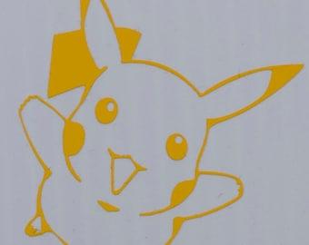 Pikachu Decal