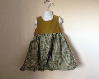 Handmade Tweed Dress
