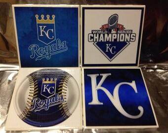 Kansas City Royals Coasters (set of 4)