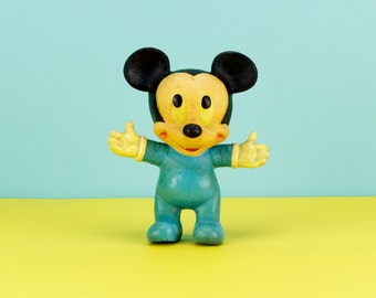 Vintage Sponge Mickey Mouse Disney Toy