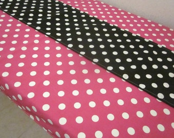 Polka Dot Tablecloth and Runner - Birthday Parties, Bridal Showers, Baby Showers, Minnie Mouse Party