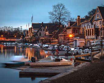 Down by Boathouse Row