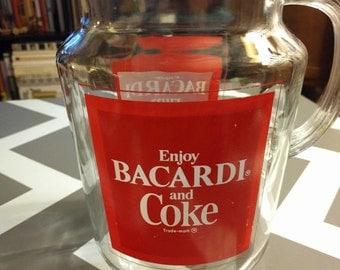 Bacardi Rum & Coke Coca-Cola Pitcher