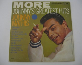 Johnny Mathis  - More Greatest Hits - 1959  (Record)