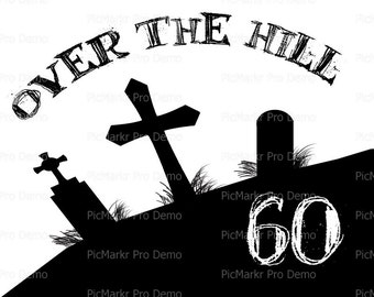 over the hill 60th etsy over the hill clip art 60 over the hill clip art free