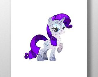 Rare Gem Pony Print
