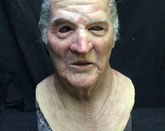 Deluxe Al! Silicone Old Man Mask! - amazing mask and made to order