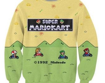 Super Mario Kart Sweatshirt
