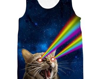 Galaxy Cat Tank Top