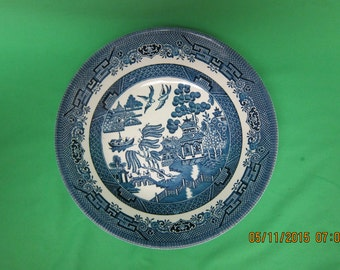 Churchill Blue Willow Serving Bowl - Small