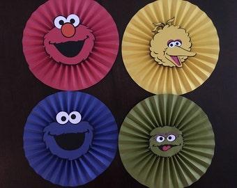 Sesame Street Rosettes