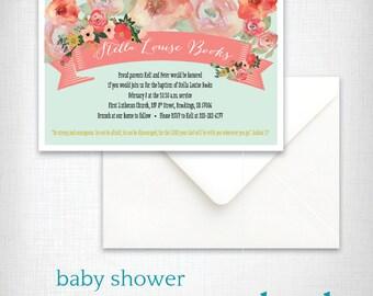 Baby Shower Invitation: Stella