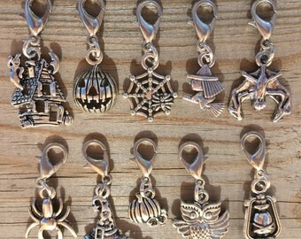 Halloween Stitch Markers or Progress Keepers