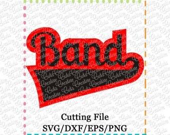 EXCLUSIVE SVG eps DXF Cutting File Band svg, sports svg, team svg, marching band svg, majorette svg, drum major svg, orchestra svg