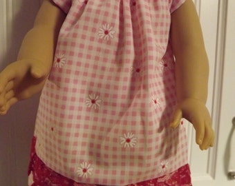13-American girl doll dress can fit other 18' doll