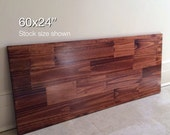 60x24 Wood Tabletop. Stock size shown. Made to Order. Choose Any Color!
