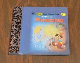 Little Little Golden Book, Walt Disney's Pinocchio, No 21, Miniature Golden Book