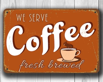 COFFEE SIGN, Coffee Signs, Vintage style Coffee Sign, Café Sign, Restaurant Sign, Coffee Bar, Coffee Decor, Rustic Coffee Sign, Cafe Decor
