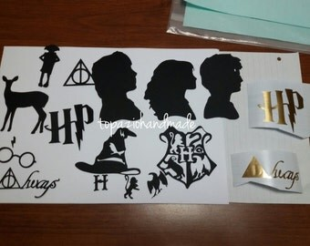 HARRY POTTER stickers and die-cut