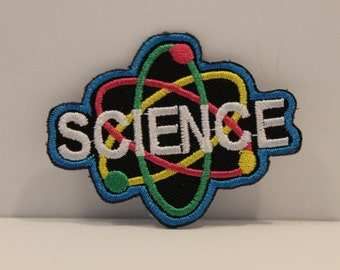 Science Patch - STEM biology chemistry scouting big bang theory scientist kjallraven Hershel