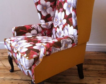 Reloved Vintage Wing Back Arm Chair