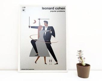 Leonard Cohen   digital print   50 x 70