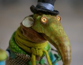 Good Troll iroh/ OOAK handmade art doll / Interior doll