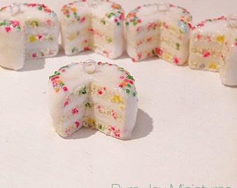 Confetti Cake - Polymer Clay Charm