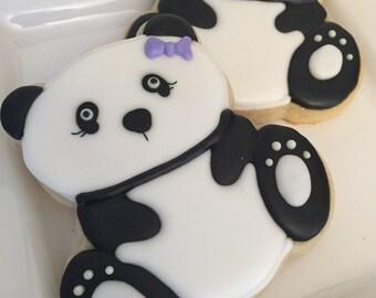 Panda Bear Cookie