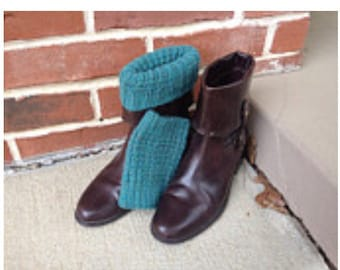 Green boot toppers