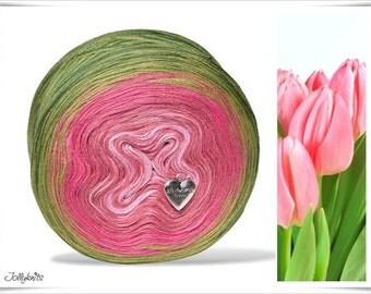 Gradient Yarn Merino Tulip