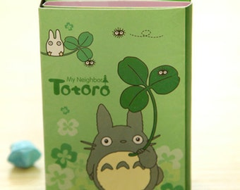 Sale! 6 Fold Totoro Post it --Sticky notes-Memo