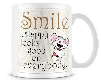 Little Church Mouse Smile Mug