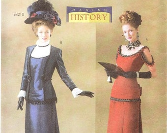 Butterick 4212 Misses' Victorian Costume Pattern, 6-10