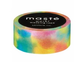 Festival Rainbow Washi Tape by Masté Masking Tape Japan
