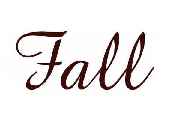 Fall Word Cookie Cutter From Kryskut On Etsy Studio