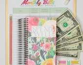 Spend Well Budgeting System - Secret Garden
